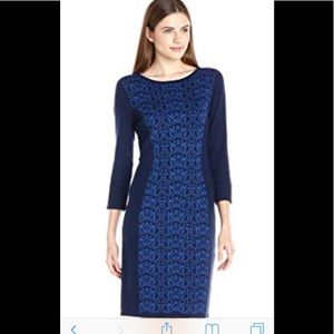 Nine West Women's Fitted Sweater Dress
